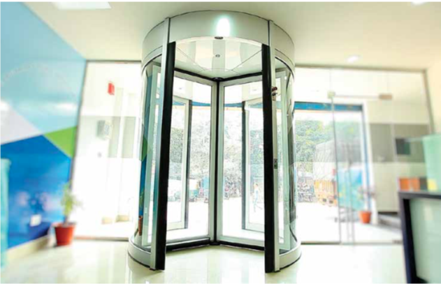 Why Revolving doors?