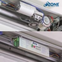 ozone automatic door motor and control panel.