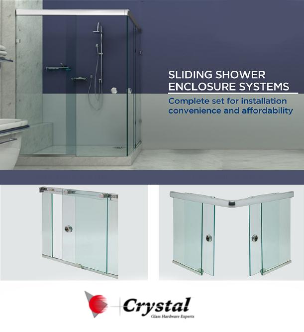 corner shower glass